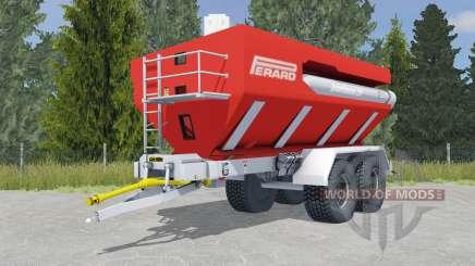 Perard Interbenne 25 light brilliant red für Farming Simulator 2015
