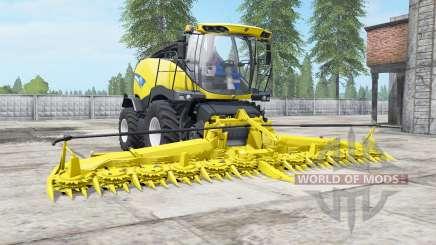New Holland FR850 avec bunkeᶉ pour Farming Simulator 2017