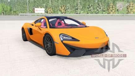 McLaren 570GT 2017 mikado yellow pour BeamNG Drive