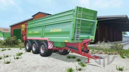 Strautmann PS 3401 fertilizer spreaders pour Farming Simulator 2015