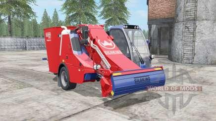 Siloking SelfLine Compact 1612 pigment red für Farming Simulator 2017