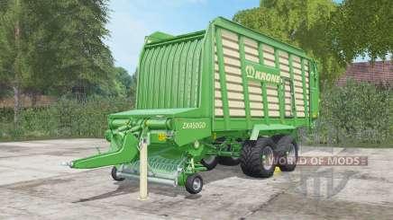 Krone ZX 450 GD pour Farming Simulator 2017