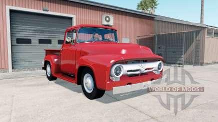 Ford F-100 Custom Cab 1956 für American Truck Simulator