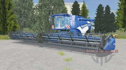 New Holland CR10.90 ocean boat blue pour Farming Simulator 2015
