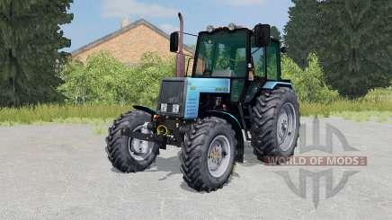 MTZ-Biélorussie 1025 couleur bleu vif pour Farming Simulator 2015