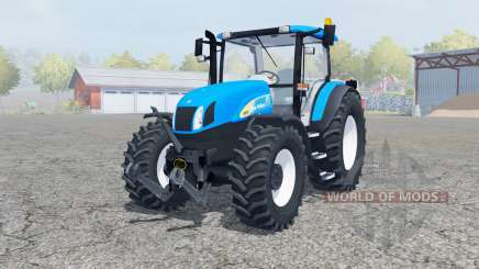 New Holland T6030 manual ignition für Farming Simulator 2013