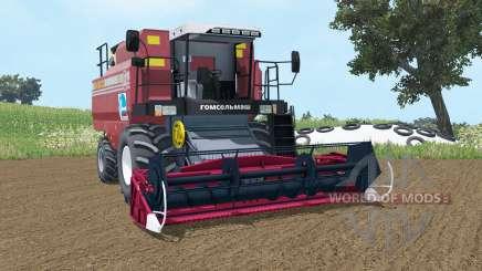 Palesse GS12 mäßig Farbe rot für Farming Simulator 2015