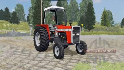 Massey Ferguson 265 ferrari red pour Farming Simulator 2015