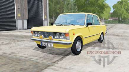 Fiat 125p arylide yellow pour Farming Simulator 2017