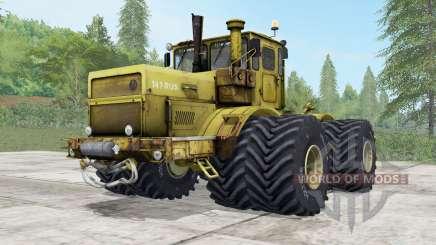 Kirovets K-700a variateur électronique options de roues pour Farming Simulator 2017