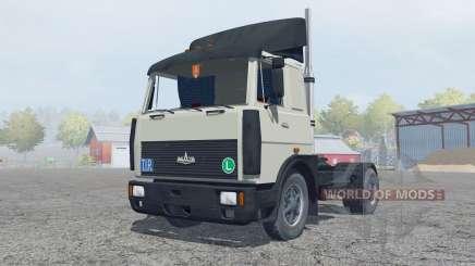 MAZ-5432 gris-vert de couleur pour Farming Simulator 2013