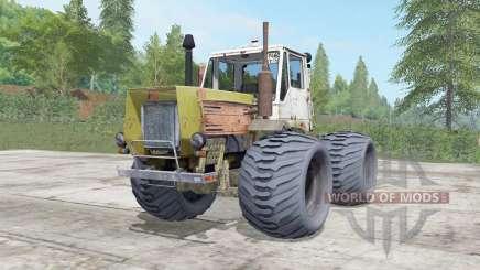 T-150K un modérément de couleur jaune pour Farming Simulator 2017