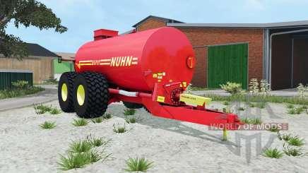 Nuhn Mugnum 5000 light brilliant red für Farming Simulator 2015