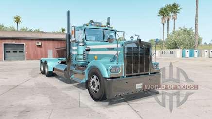 Kenworth W900A aquamarine blue für American Truck Simulator