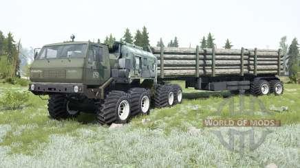 KrAZ-7E-6316 Sibérie pour MudRunner
