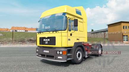 MAN F2000 19.414 gargoyle gas für Euro Truck Simulator 2