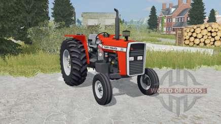 Massey Ferguson 265 orioles orange pour Farming Simulator 2015
