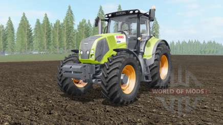 Claas Axion 810-850 acid green pour Farming Simulator 2017