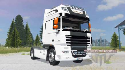 DAF XF105 FT Super Space Cab für Farming Simulator 2015