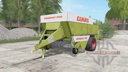 Claas Quadranƫ 1200 pour Farming Simulator 2017
