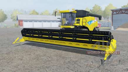 New Holland CR9090 Titan yᶒllow für Farming Simulator 2013