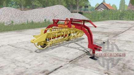 New Holland Rolabar 258 pour Farming Simulator 2017