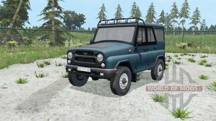 UAZ hunter (315195) pour Farming Simulator 2015