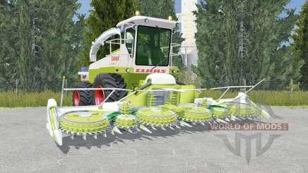 Claas Jaguar 685 citron pour Farming Simulator 2015