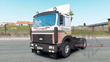MAZ-54323 v7.0 pour Euro Truck Simulator 2