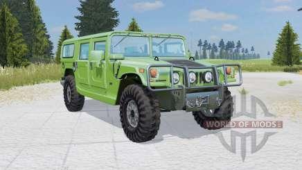 Hummer H1 Alpha Wagon 2006 pour Farming Simulator 2015