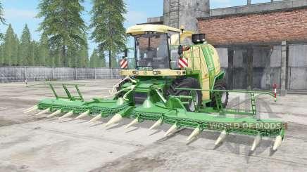 Krone BiG X 1100 vanilla pour Farming Simulator 2017