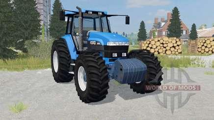 Ford 8970 rich electric blue für Farming Simulator 2015