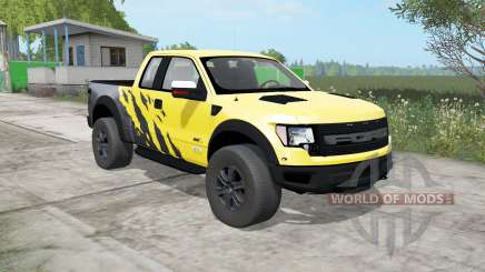 Ford F-150 SVT Raptor SuperCab 2009 pour Farming Simulator 2017