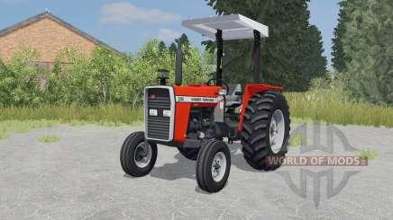 Massey Ferguson 290 coquelicot pour Farming Simulator 2015