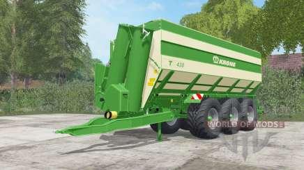 Krone TX 430 pantone green für Farming Simulator 2017