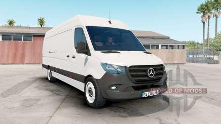 Mercedes-Benz Sprinter VS30 Van 316 CDI 2019 pour American Truck Simulator