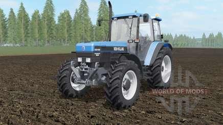 New Holland 8340 spanish sky blue für Farming Simulator 2017