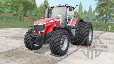 Massey Ferguson 8727-8737 wheels selection pour Farming Simulator 2017