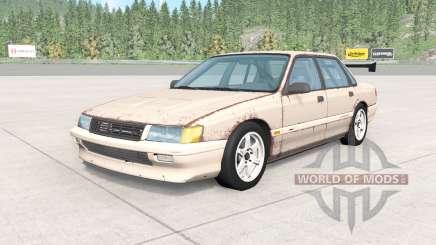 Ibishu Pessima 1988 rusty skin v0.2 pour BeamNG Drive