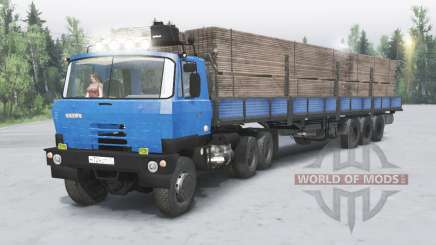 Tatra T815 pour Spin Tires