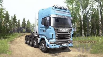 Scania R730 Topline 10x10 für MudRunner