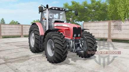 Massey Ferguson 6460-6495 deep carmine pink für Farming Simulator 2017