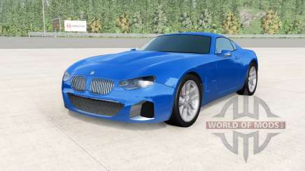 BMW M850i coupe (G15) replica v0.1 pour BeamNG Drive