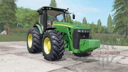 Jean Deeᶉe 8245R-8345R pour Farming Simulator 2017