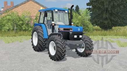 Ford-NH 6640 SLE pour Farming Simulator 2015