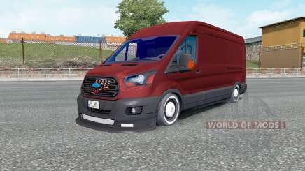 Ford Transit Jumbo Van für Euro Truck Simulator 2