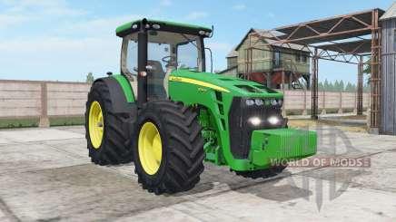 John Deere 8245R-8345R real GPS pour Farming Simulator 2017