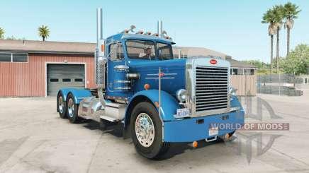 Peterbilt 359 rich electric blue für American Truck Simulator
