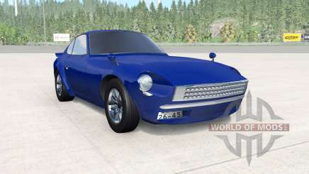 Nissan Fairlady Z (S30) Wangan Midnight Devil Z pour BeamNG Drive