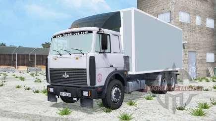 MAZ-6303-Licht-Grau-Blaue Farbe für Farming Simulator 2015